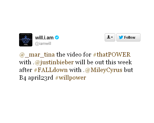 CONFIRMATION DU CLIP THAT POWER