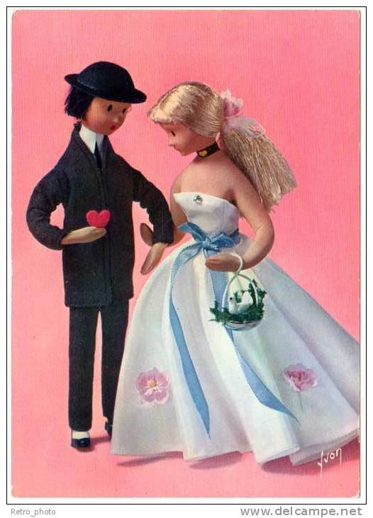 la st valentin, l'ocfcasion de reparler des poupées de peynet