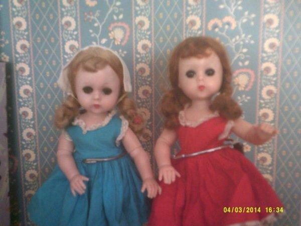 deux soeurs jumelles!