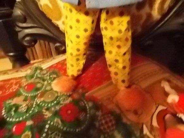 soirée pyjama pour libby Littlchap.