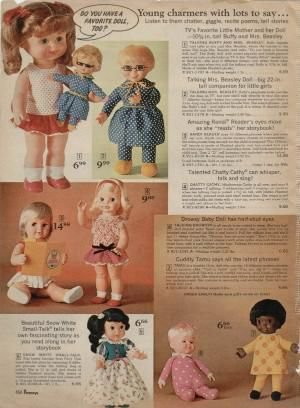 il y a quelques jours je vous presentait buffy  la poupée representant lapetite fille de cher oncle bill