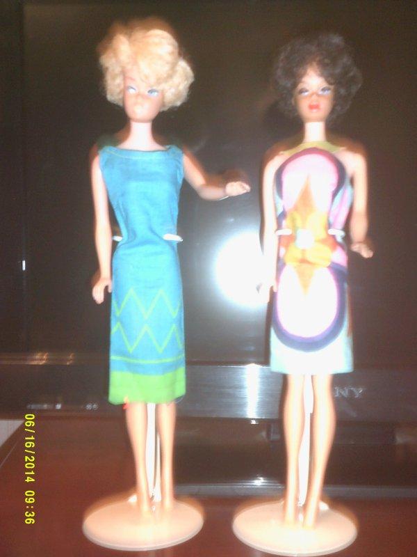les imprimes speciaux de Barbie!
