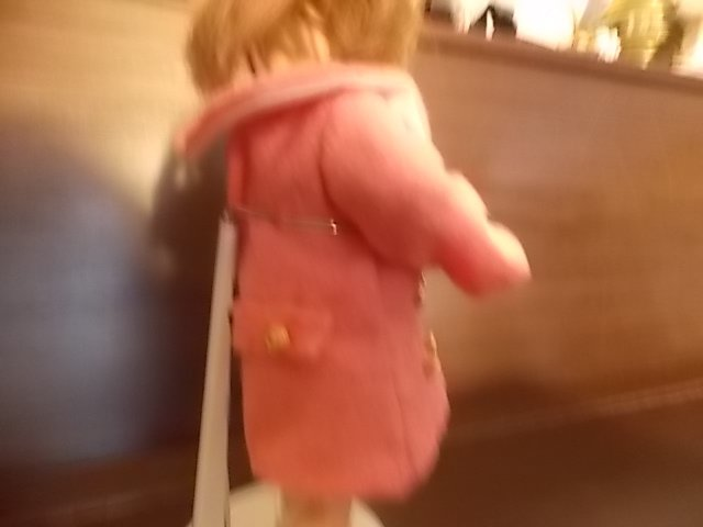 bleuette arbore son nouveau manteau pour vous souhaiter bonne année!!
