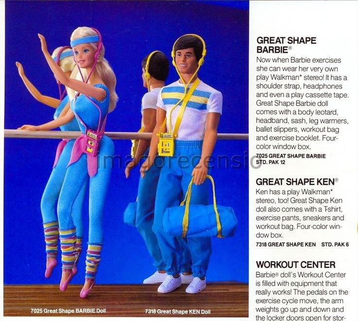 barbie des années 80