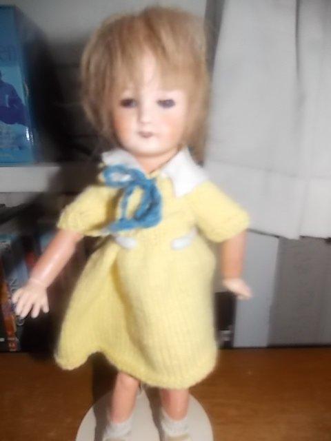 bleuette robe tricot