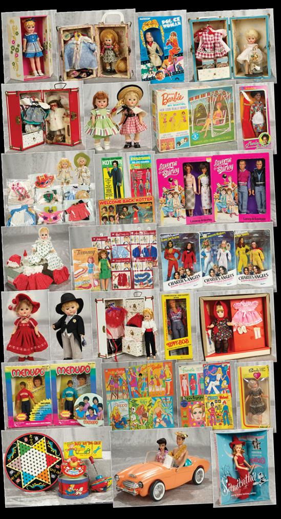 vente de poupées années 50 chez theriault aux usa! de quoi rever!!