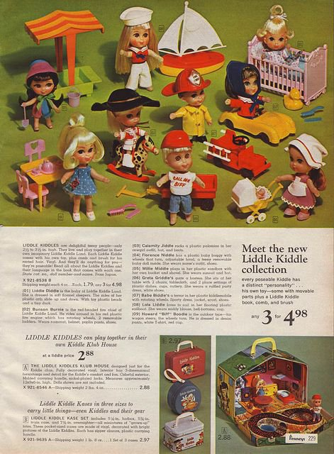 catalogues little kiddle