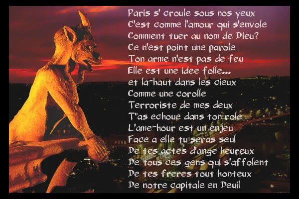 ♥ Libertad   ♥ en Hommage a Paris