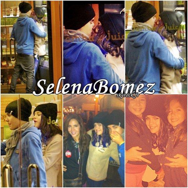 18/01/12 : Jelena,ils se quittent pas.♥
