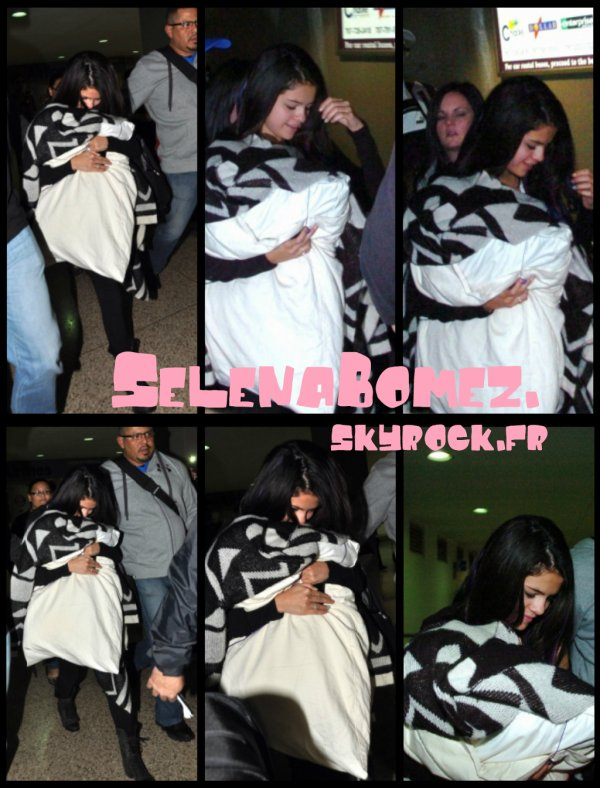 Article de la Co-Webmiss Kenza    29/01/12 : Selena en Amérique du Sud