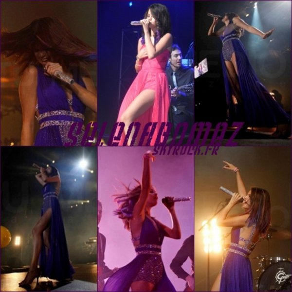 05/02/12 : La tournée de Selena en Amérique du Sud ♥