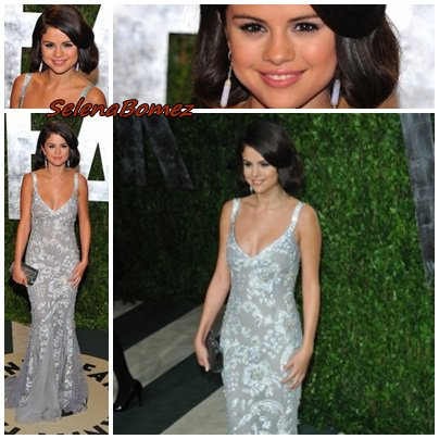 Le 26/02 Selena Gomez était aux Vanity Fair Oscars Party