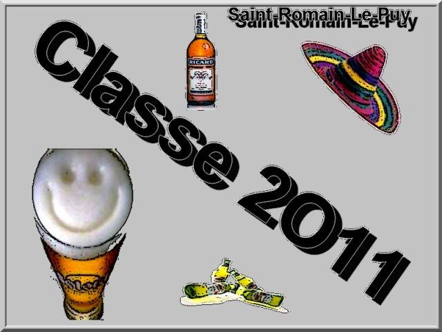 Les classards de St Romaim le Puy