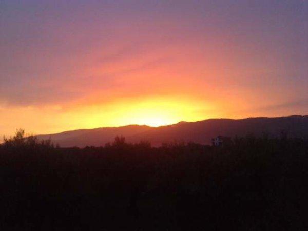 levé de soleil , a 05h56m  mardi 21 /04/ 2015