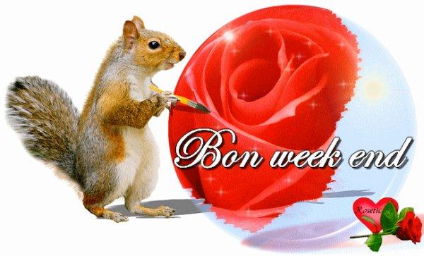 Bonne Week-end  mes Amis