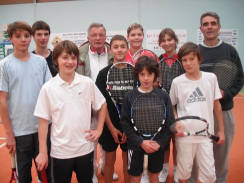 le groupe du tennis