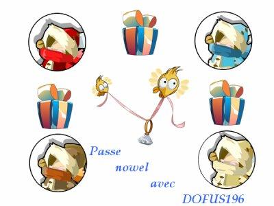 Passe nowel avec DOFUS196