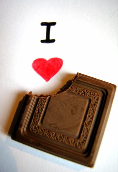 I LOVE CHOCOLATE  $)