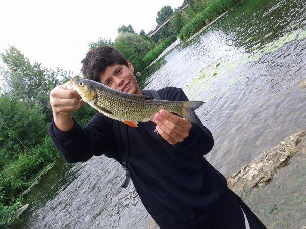 Pêche aux vifs, après une semaine de vacance ;)