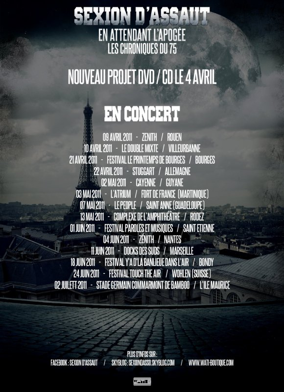 Tournée 2011 !!!!!