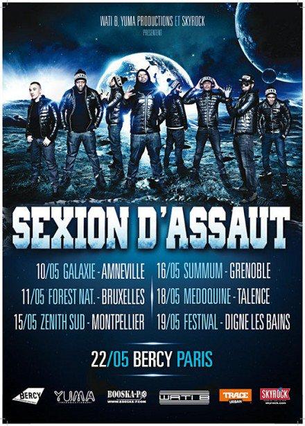 Tournée 2012 et Tracklist de L'Apogée !!!
