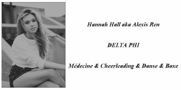> Hannah Hall <