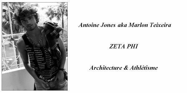 > Antoine Jones <