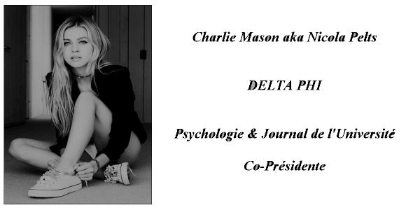 > Charlie Mason <