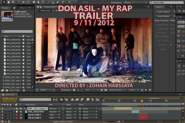 "Karim Hasnawi 2012 - Making of ""My rap"""
