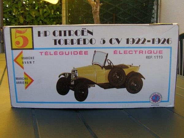 FRANCE-JOUETS - 5HP CITROËN  1922/26