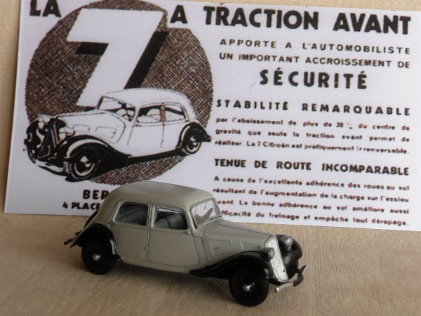 CITROËN 7 CV  BERLINE 1937