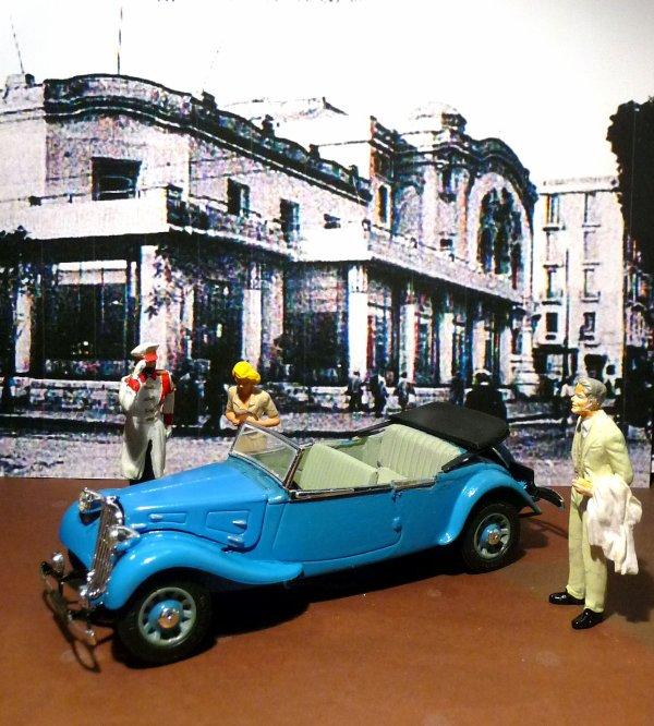 CITROËN 11 cv  Cabriolet 5 PLACES E. GIRARD - Paris