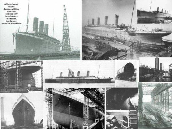 Construction, concept du Titanic