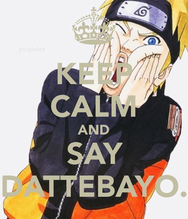 """Découverte du japon ! # 4 Que signifie le """"dattebayo"""" de Naruto ?"""
