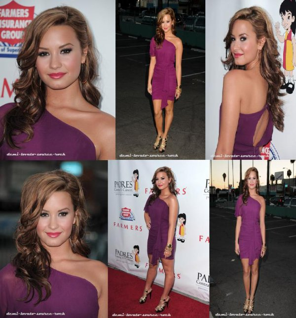 Demi a assisté au Padres Contro El Cancer's 25th Annual Gala ce 23 septembre au Palladium de Hollywood.