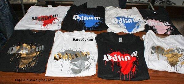 . .............  Les t-shirt de Odkam! ♥