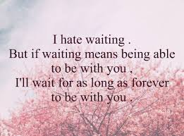 About Waiting