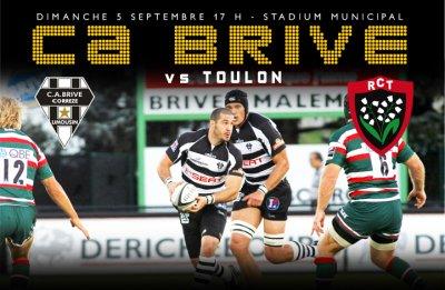 Le CABCL reçoit le RC Toulon