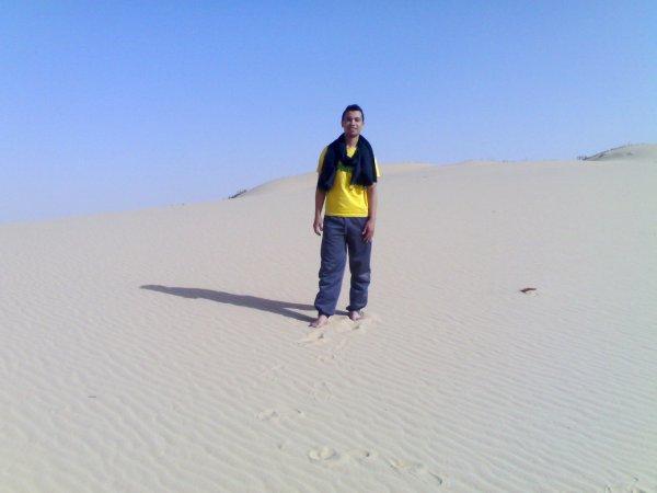 le desert d'Algerie