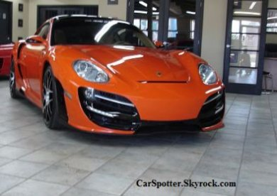 Porsche Cayman RUSH Turbo by Anibal Automotive Design