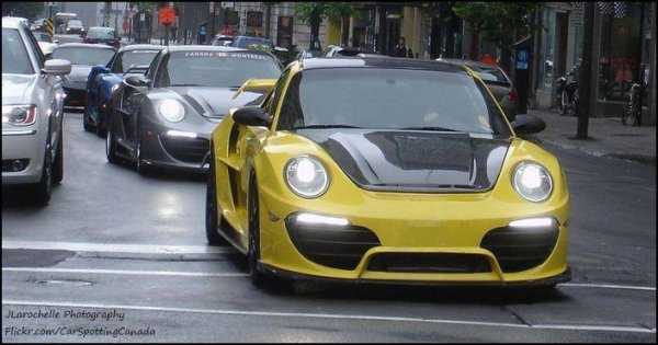Porsche Attack by Anibal Automotive Design
