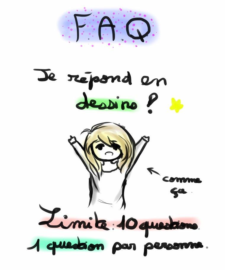 F.A.Q ಥ⌣ಥ lol.  ♣ /FERMEE/ ♣
