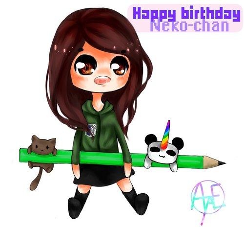 Joyeux anniversaire à Neko-Dessine!