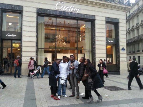Bjr Champs-Elysées!!!