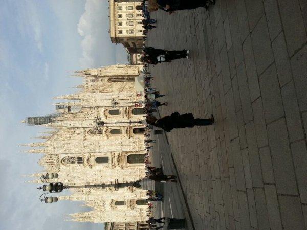 Italie dans la ville de Milan