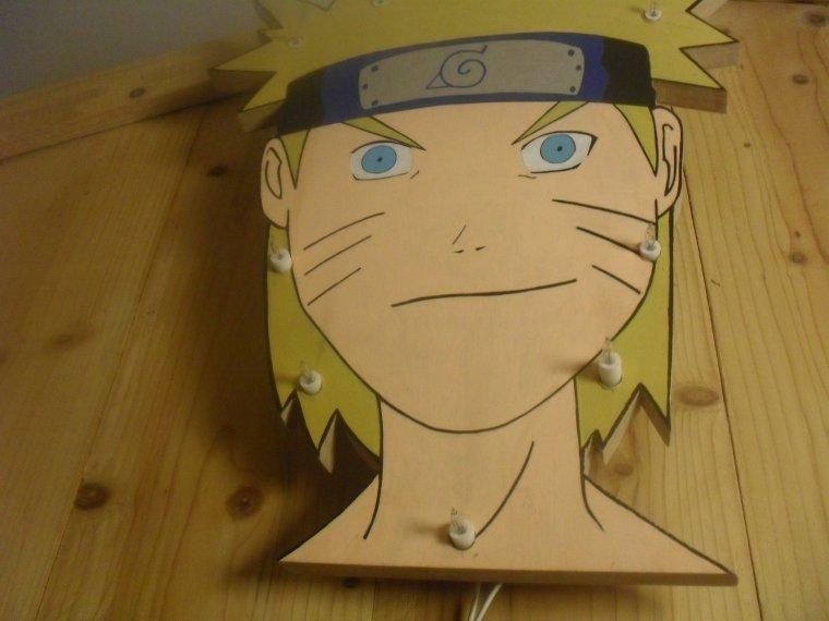 Lampe Naruto Fait Par Mon Oncle Dragon Ball One Piece Naruto