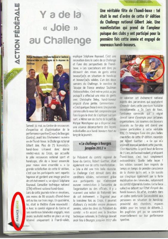 article france boxe