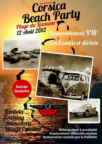 Corsica beach party 2012