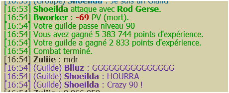 Une Guilde en Ascension.