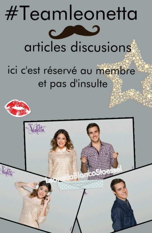 Discussion #Teamleonetta seulement